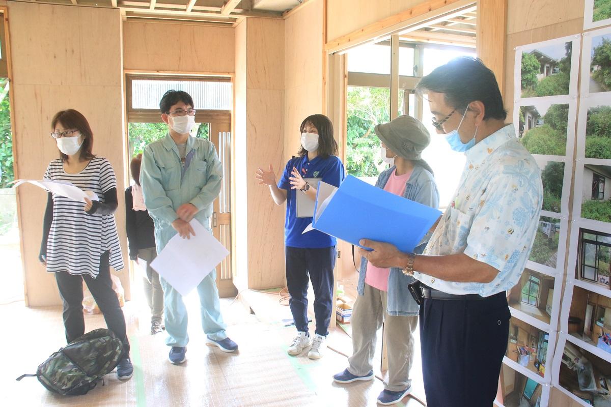 レポート|多良間村で空き家の改修ワークショップが開催されました