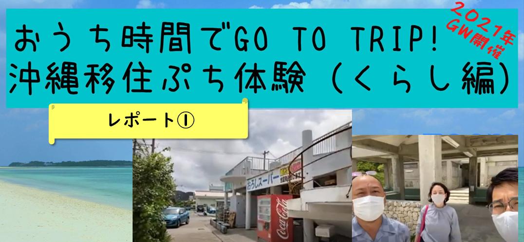 レポート プチオンライン移住体験ツアーin石垣島、久米島、伊江島①